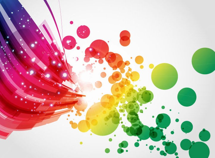 Abstract Colorful Vector Background Art Vector Graphics All 723x532