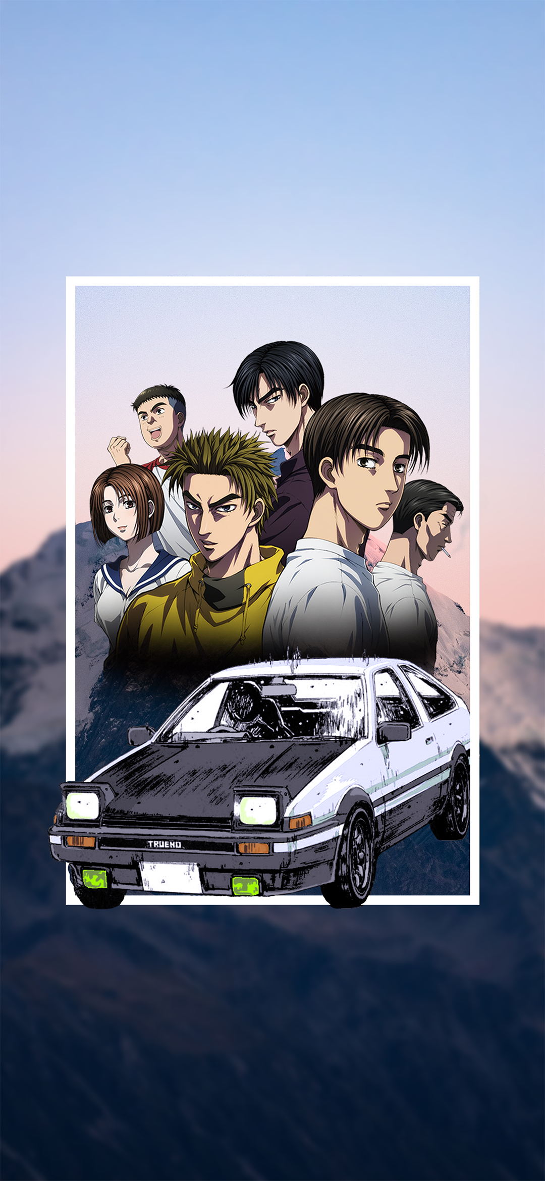 AnimeInitial D 1080x2340 Wallpaper ID 853918   Mobile Abyss 1080x2340