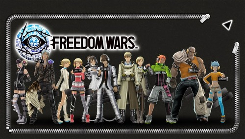 Freedom Wars Help   Freedom Wars lock screens and wallpapers 500x283