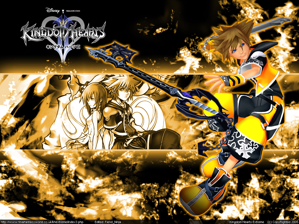 wallpapers kingdom hearts29132 1711024x768 171anime xpx kingdom hearts 1024x768