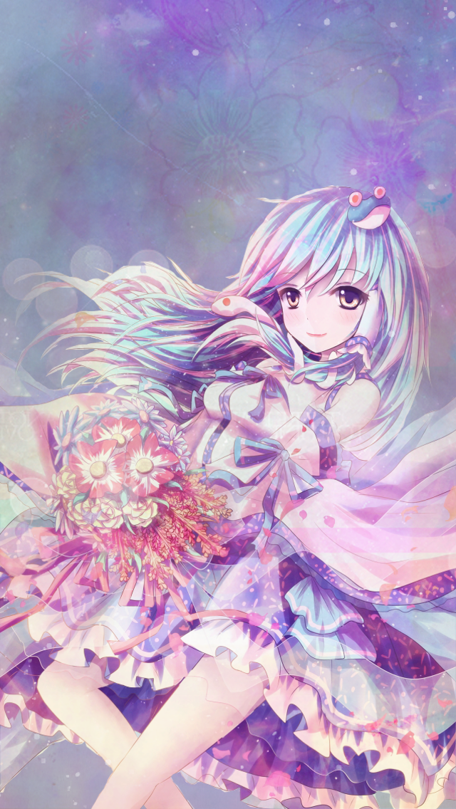 Iphone 5 Wallpaper Random Anime by Hikocchi 640x1136