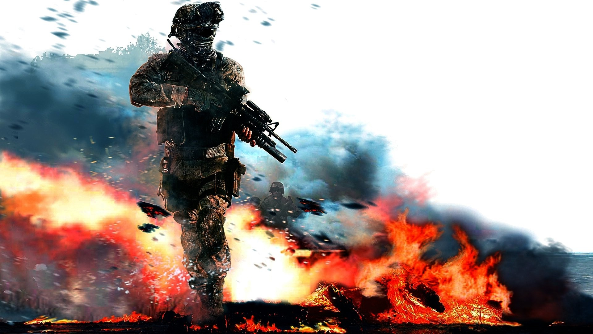 Free Download Call Of Duty Modern Warfare 2 Video Games Soldier
