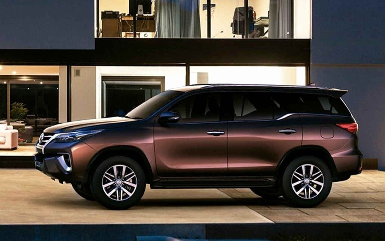 New 2019 Toyota Fortuner Side Hd Wallpapers   Toyota Fortuner 1280x800