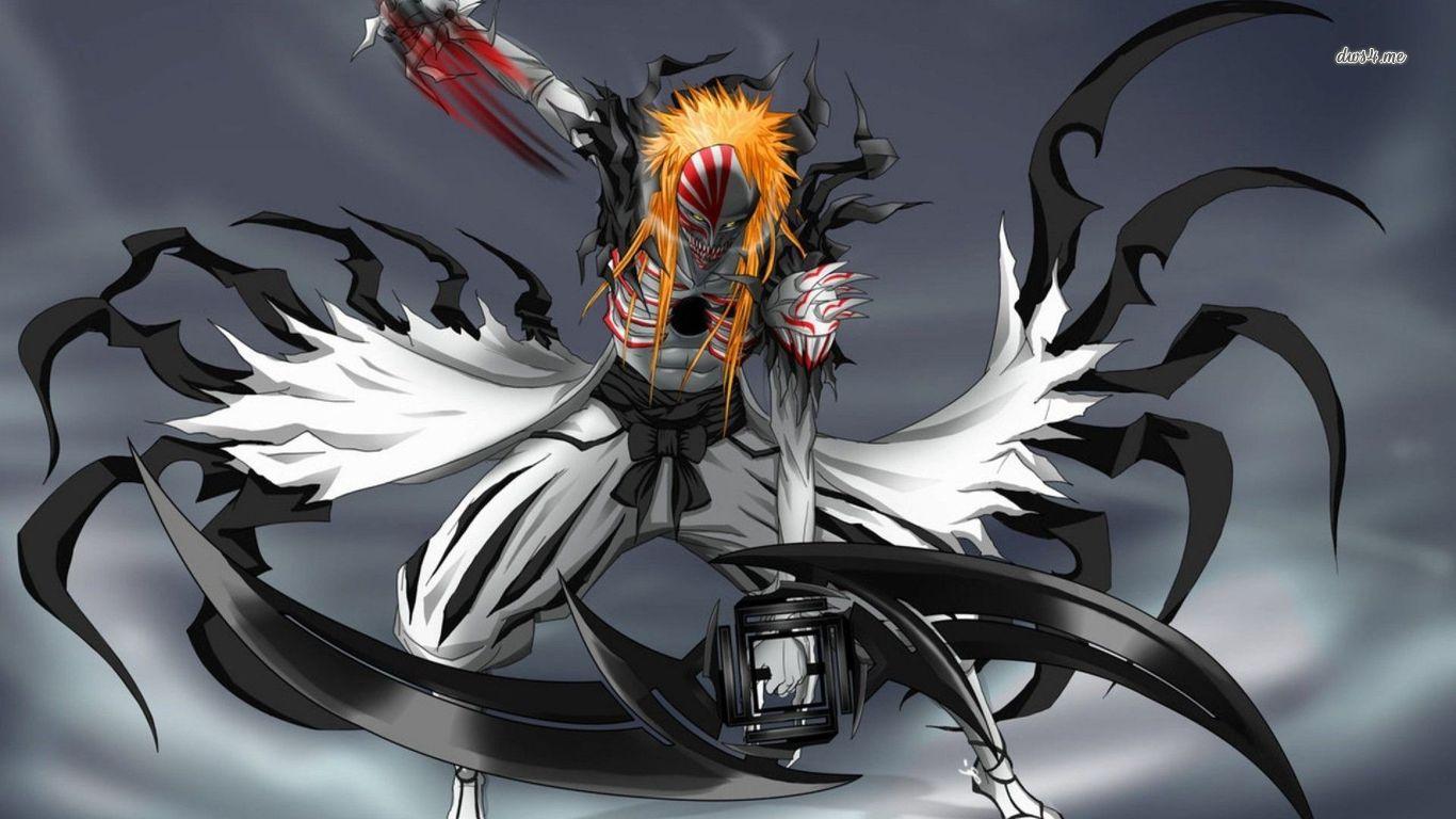 Bleach Hollow Ichigo Wallpaper Anime Wallpaper Pictures in HD 1366x768
