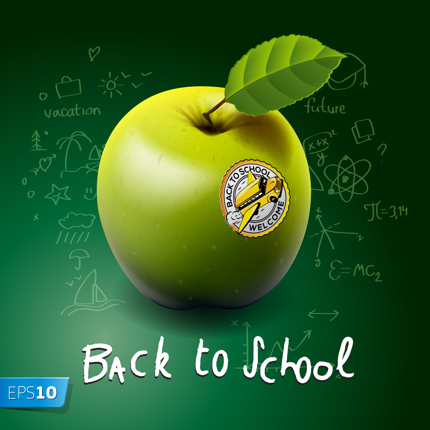 Back to School style backgrounds 03   Vector Background download 1400x1400