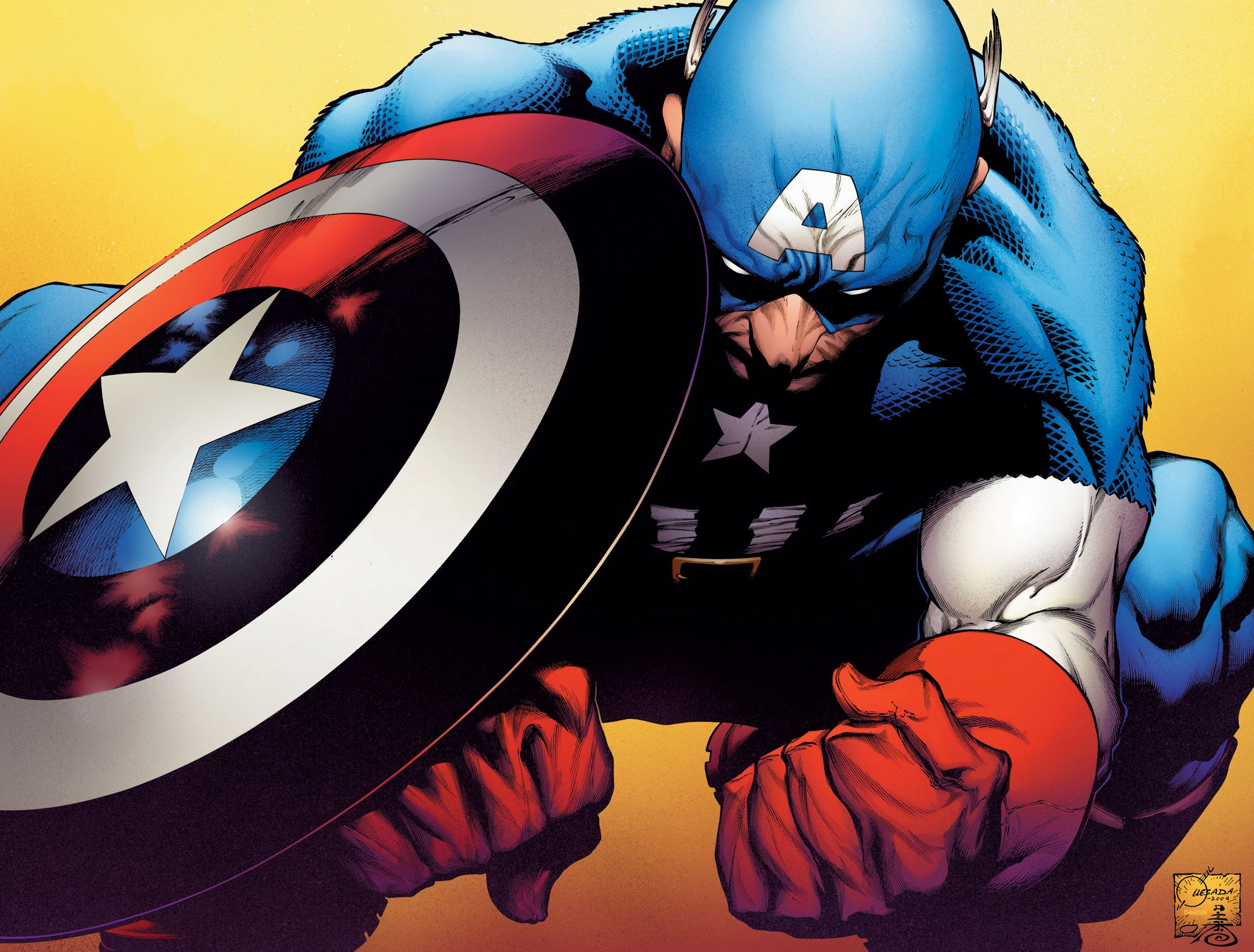 Captain America desktop wallpaper 2063x1566