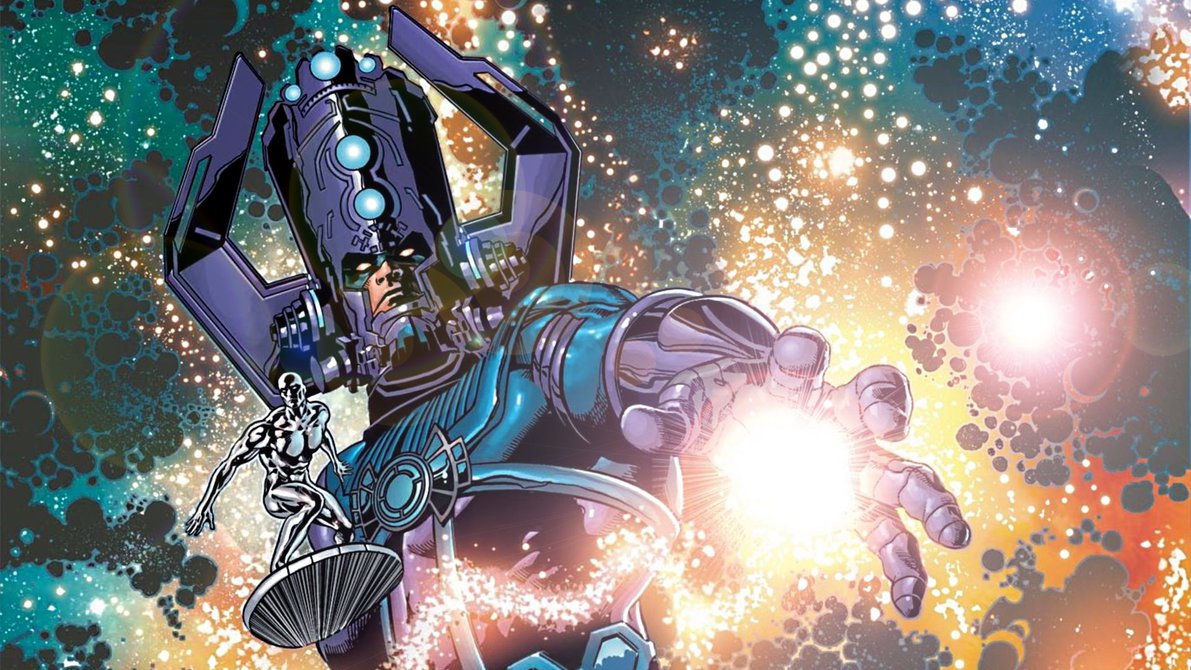 Galactus and The Silver Surfer by ProfessorAdagio 1191x670
