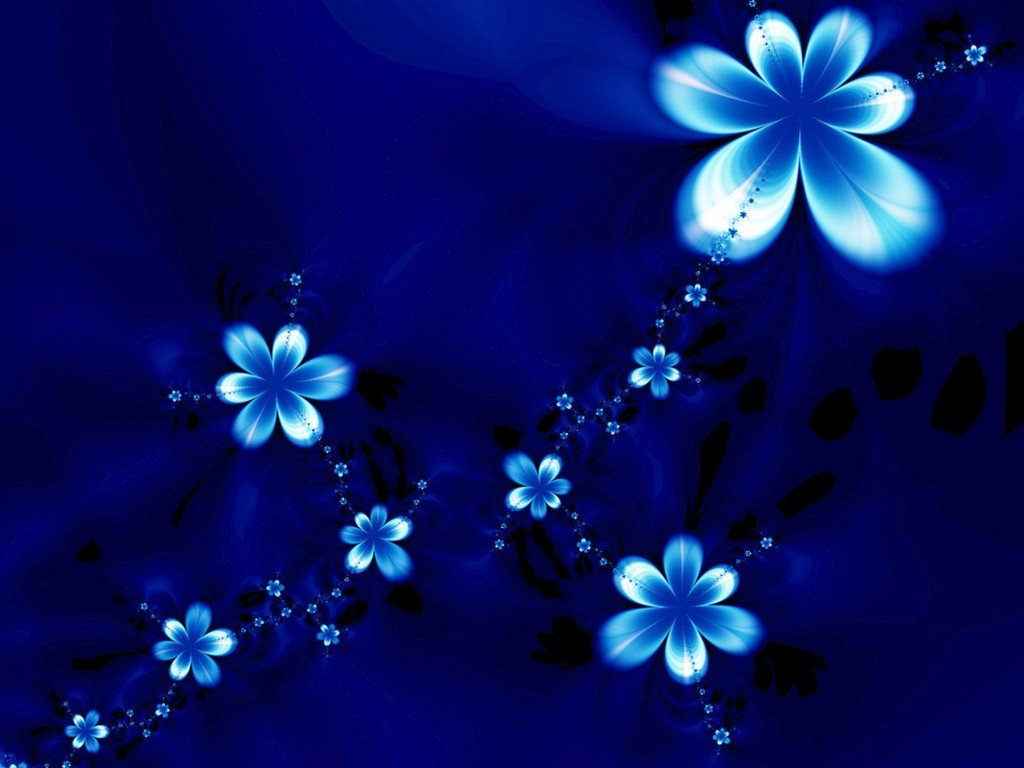 Blue Flower Wallpaper Related Keywords amp Suggestions 1024x768