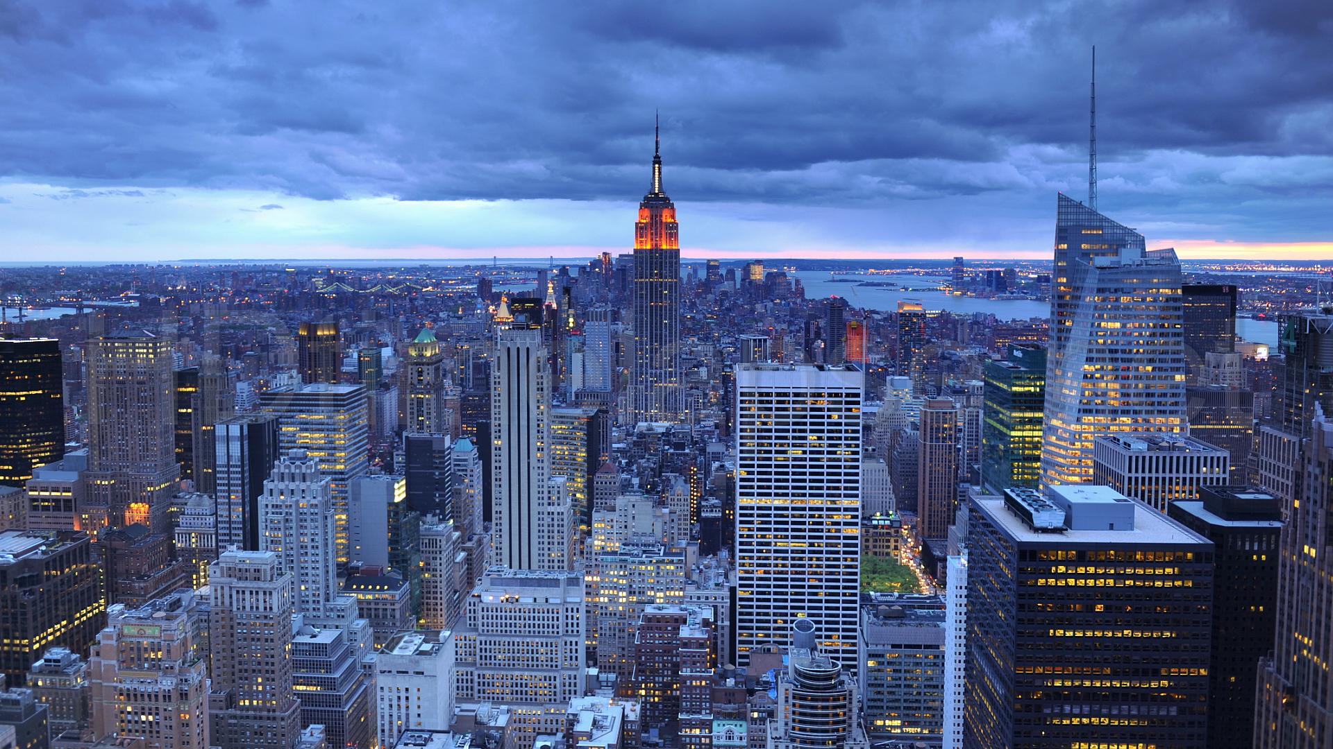 new york city midtown manhattan bank of america hudson new york city 1920x1080