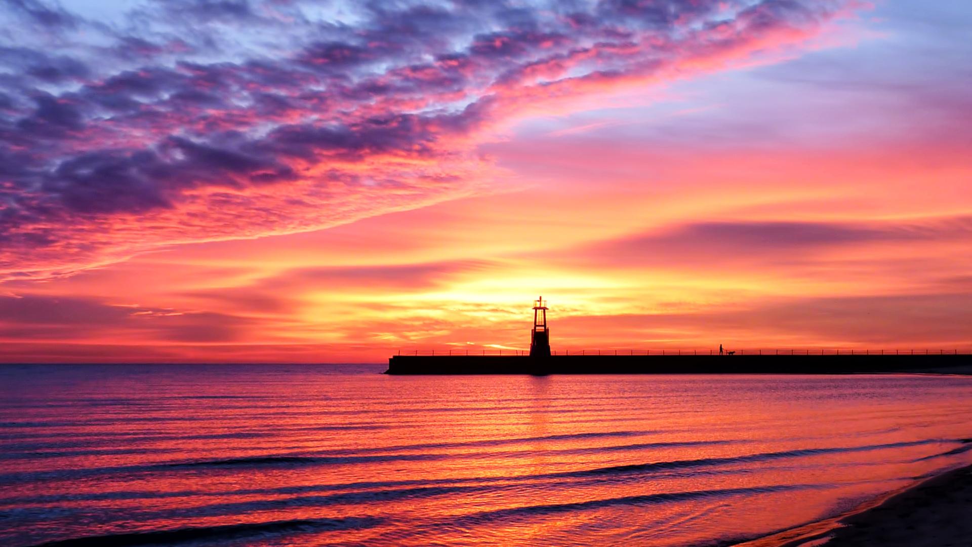 sunset screensavers screensaver lighthouse wallpapers wallpapersafari code