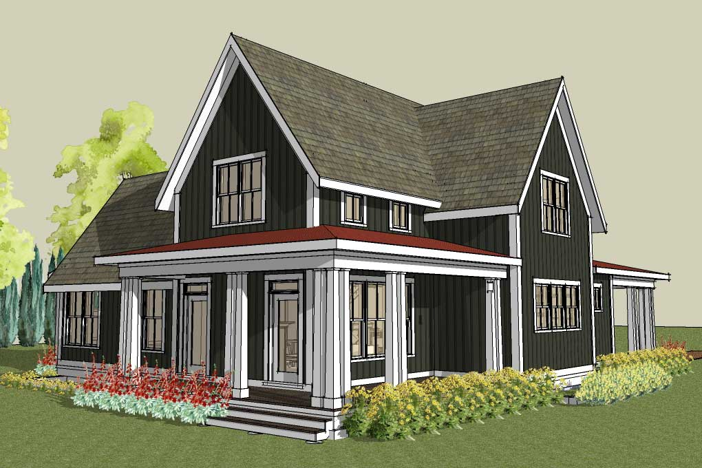 Carriage House Plans Farm House Plans 1020x680