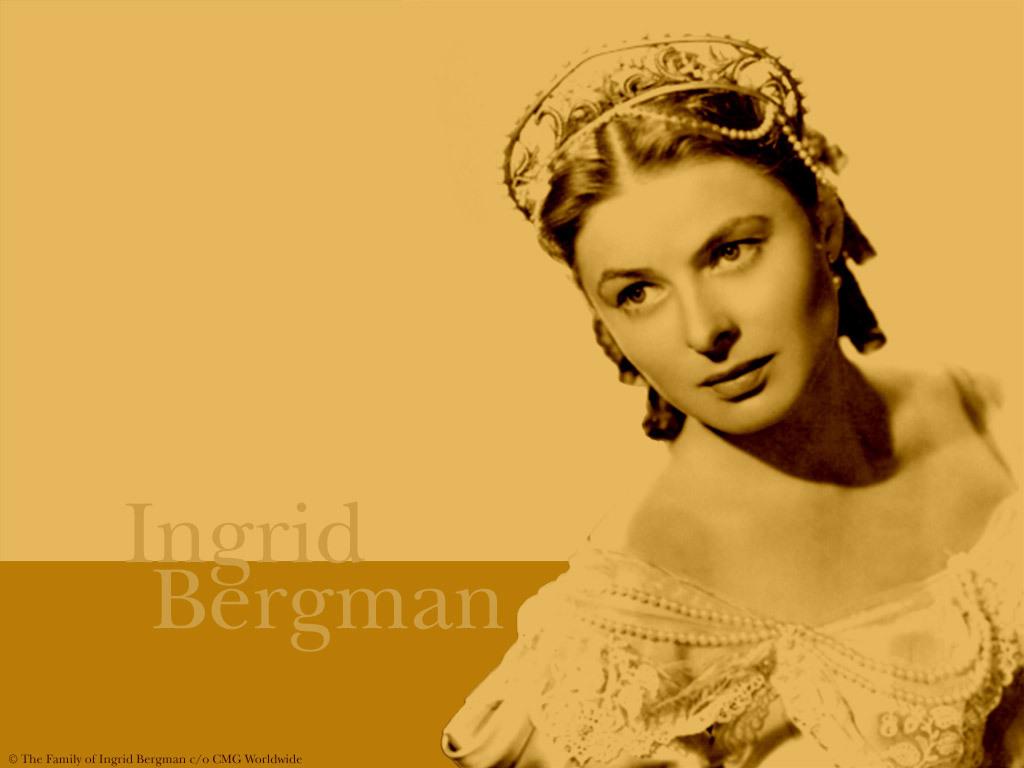 Ingrid Bergman   Ingrid Bergman Wallpaper 3834965 1024x768