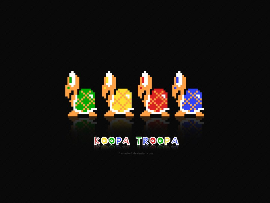 Koopa Troopa by flamaster3 on DeviantArt