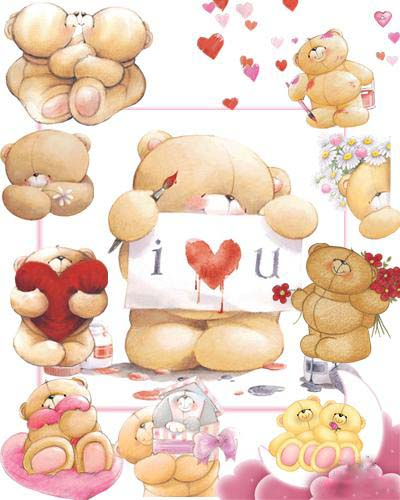 Forever Friends Teddy Bear HD Walls Find Wallpapers 400x500