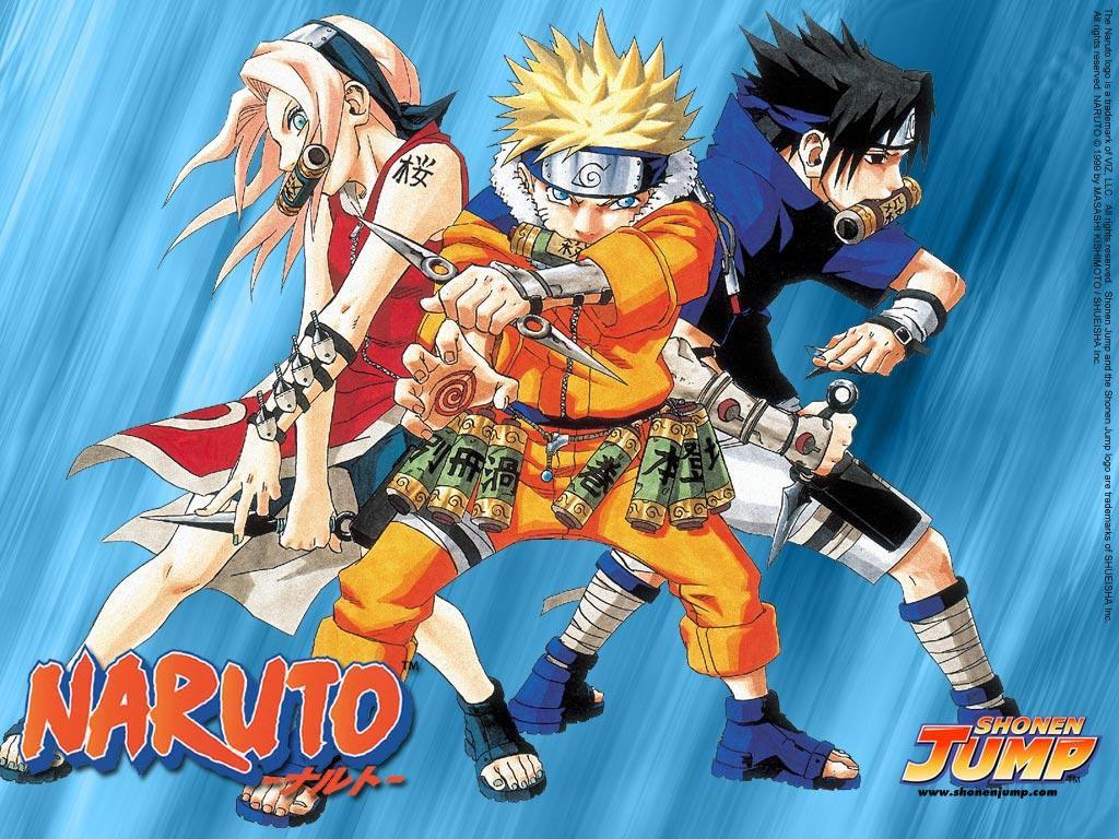 Manga Naruto naruto sakura sasuke wallpapers   W3 Directory Wallpapers 1024x768