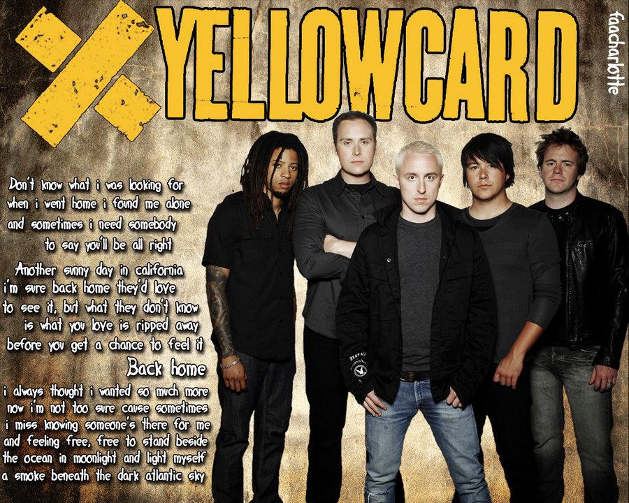 Wallpaper Yellowcard by FallyKillradio 900x720