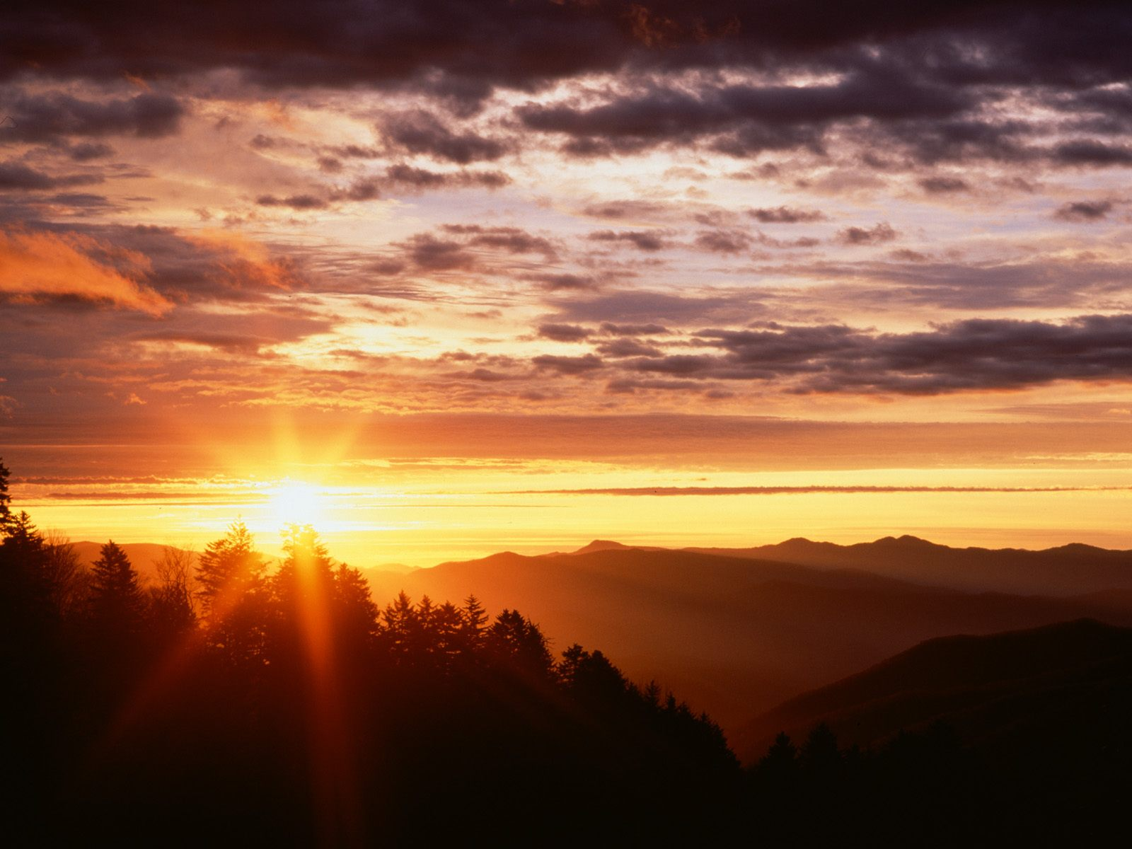 Mountain Sunrise Wallpaper 10061 Hd Wallpapers in Nature   Imagesci 1600x1200