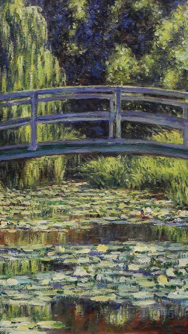 claude monet paintings likereblog if you save Claude Monet 640x1136