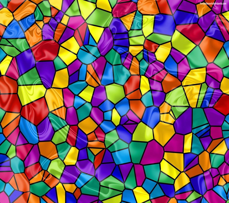 Glass Wallpaper: Staining Wallpaper