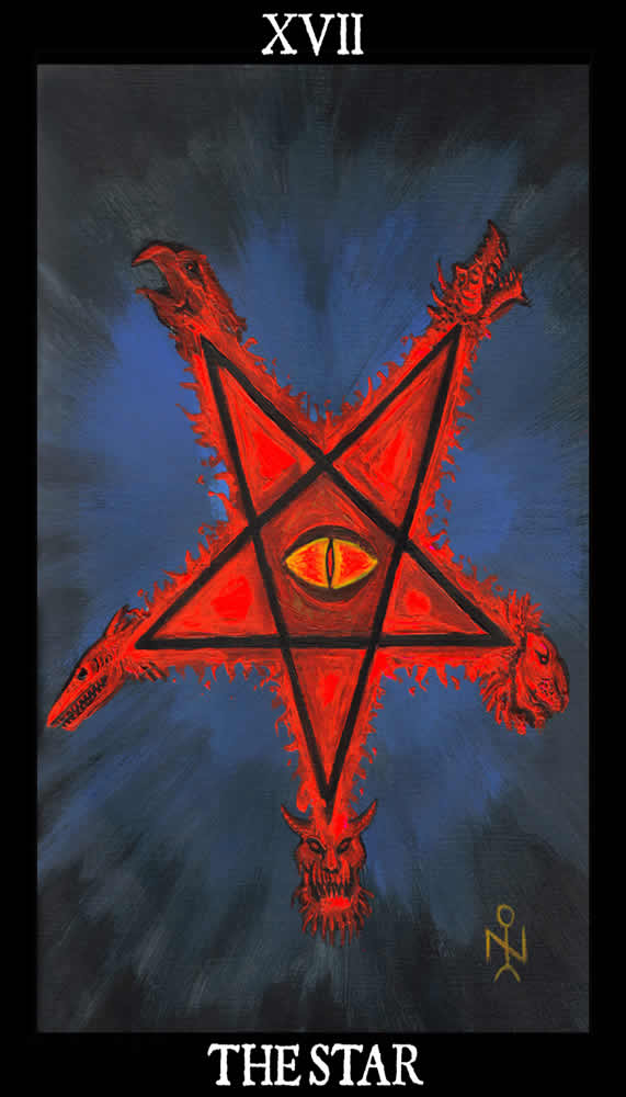 The Star   Esoteric And Occult Luciferian Tarot Cards Wallpaper Image 571x1000