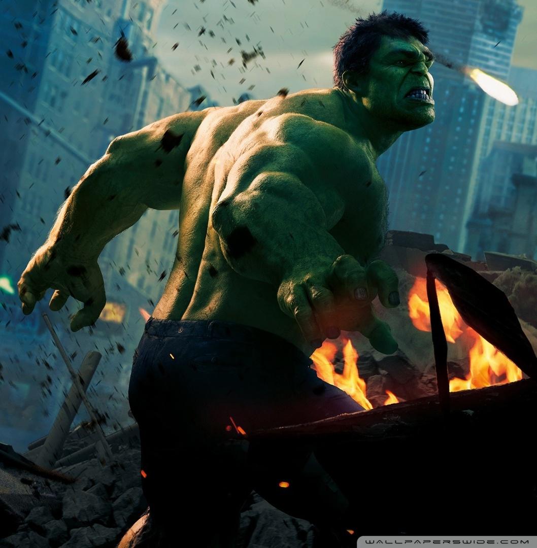Marvels Avengers Wallpapers HD The Avengers Hulk HD Wallpapers 1058x1080