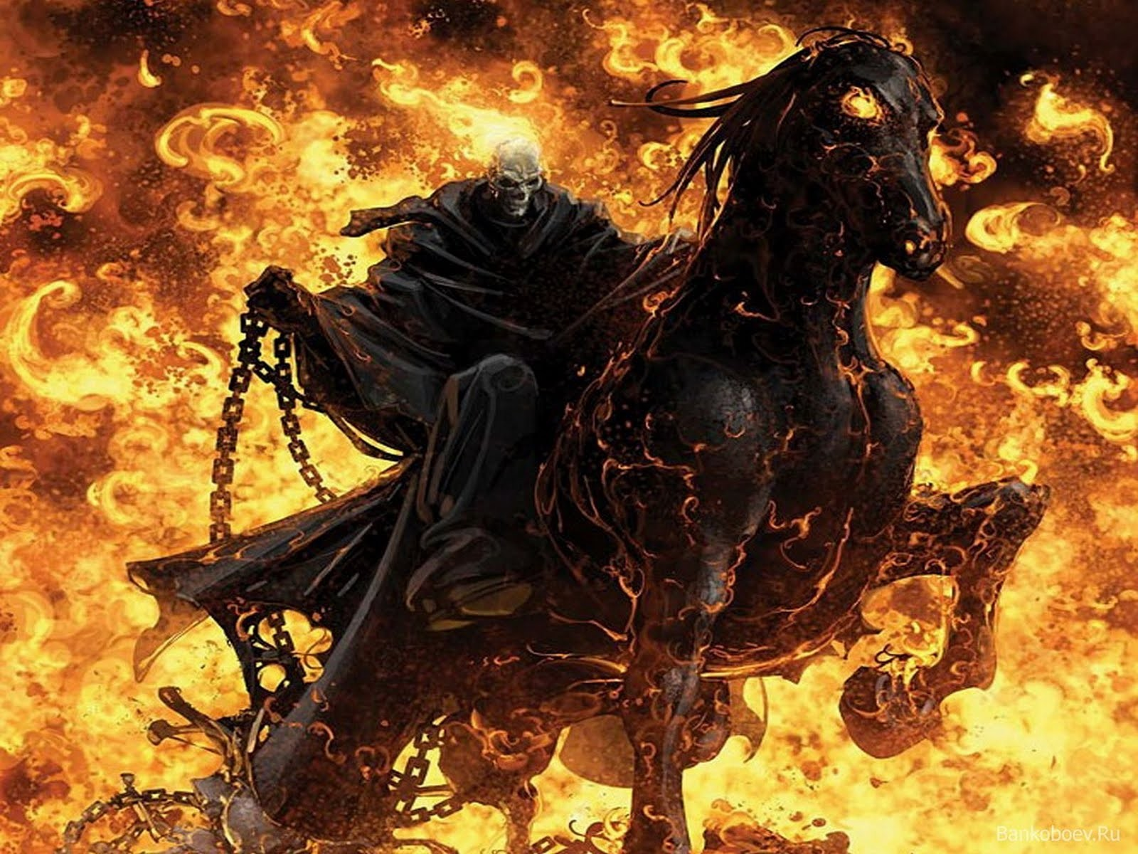 Ghost Rider ghost rider fire skull 1600x1200jpg 1600x1200