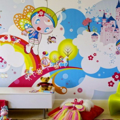 Decorating Ideas Using Wallpaper Decosee 500x500