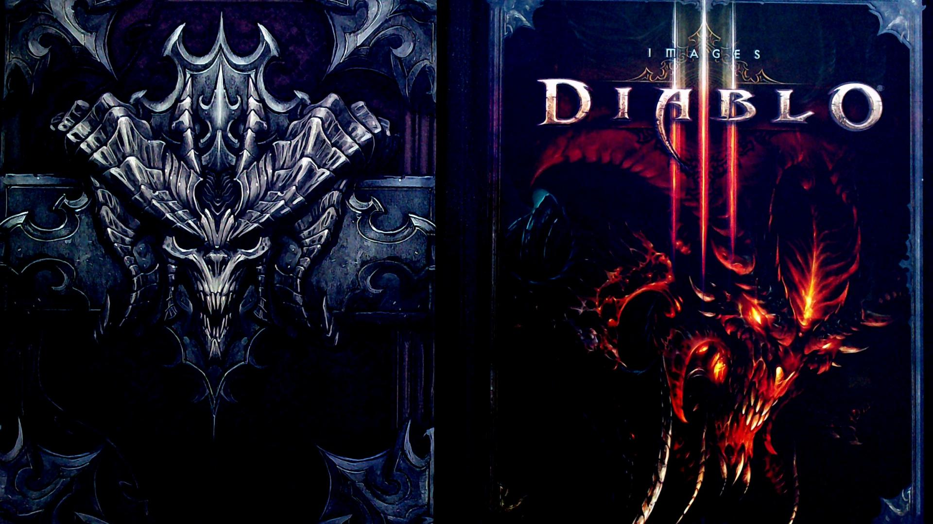 Diablo books blizzard entertainment iii demon wallpaper 52435 1920x1080