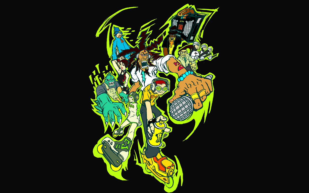 75 Jet Set Radio Wallpaper On Wallpapersafari