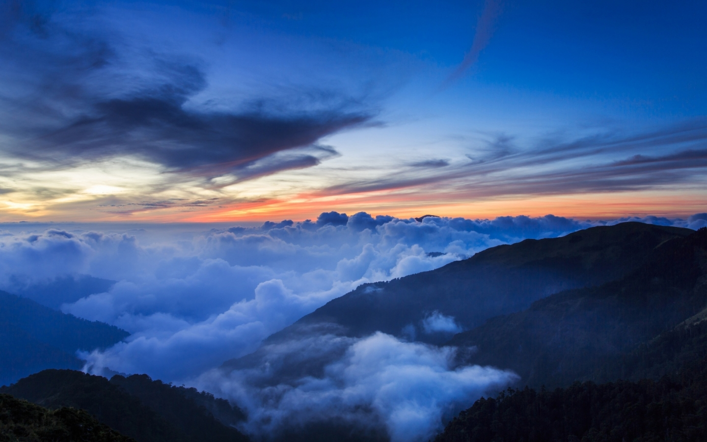 Sea of cloud Mac Wallpaper Download Mac Wallpapers Download 1440x900