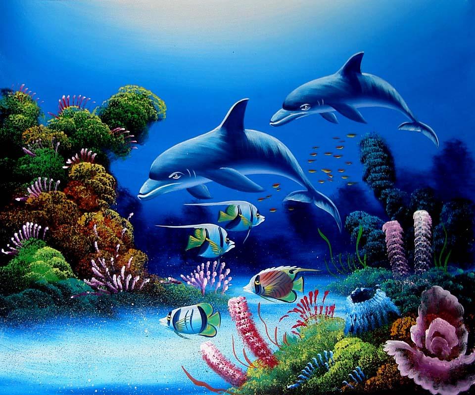 3d Aquarium Live Wallpaper: Free Fish Tank Wallpaper Screensavers