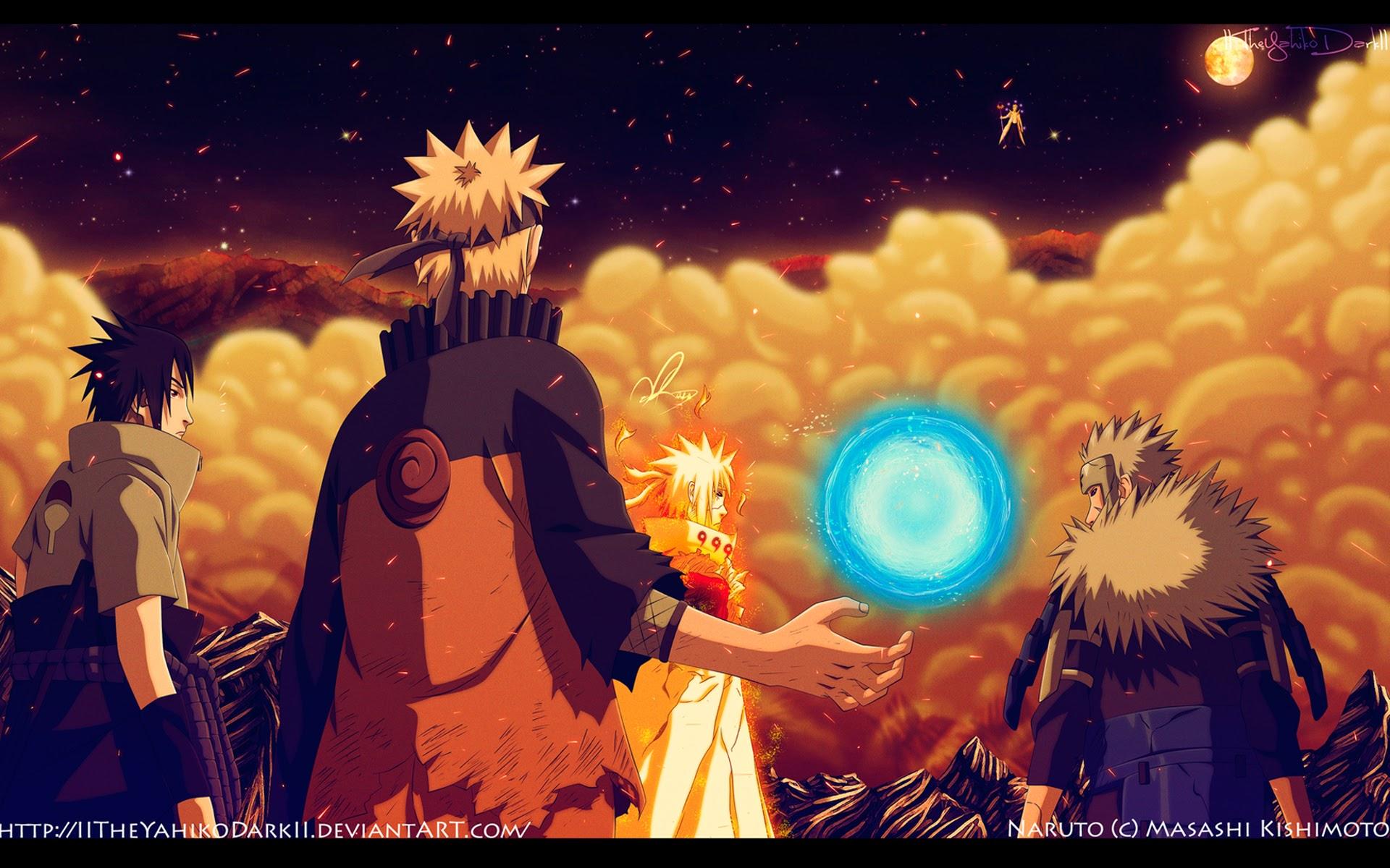 naruto rasengan tobirama senju minato sasuke vs obito hd anime 1920x1200
