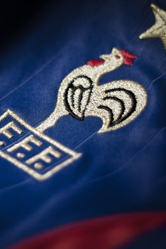 French Cock Soccer Logo wallpaper for iPhone 4 333x500
