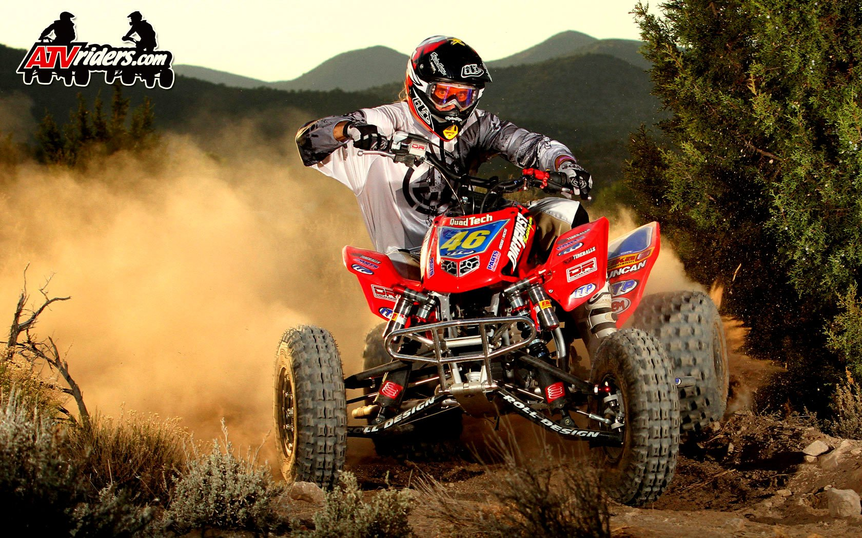 Featured on ATVRiderscom Wednesday Wallpapers Dirt First Racing 1680x1050