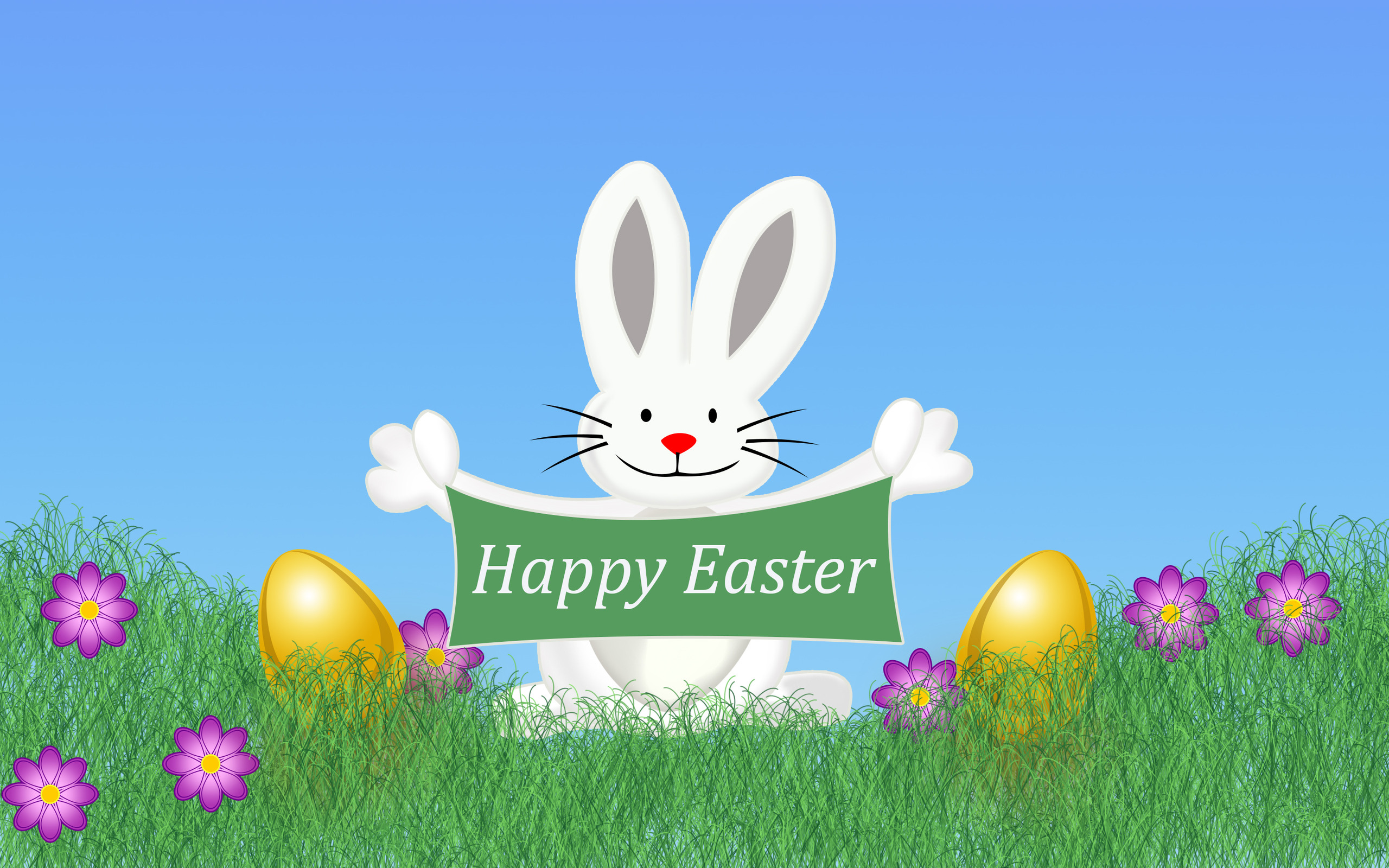 Download Happy Easter wallpaper 2560x1600