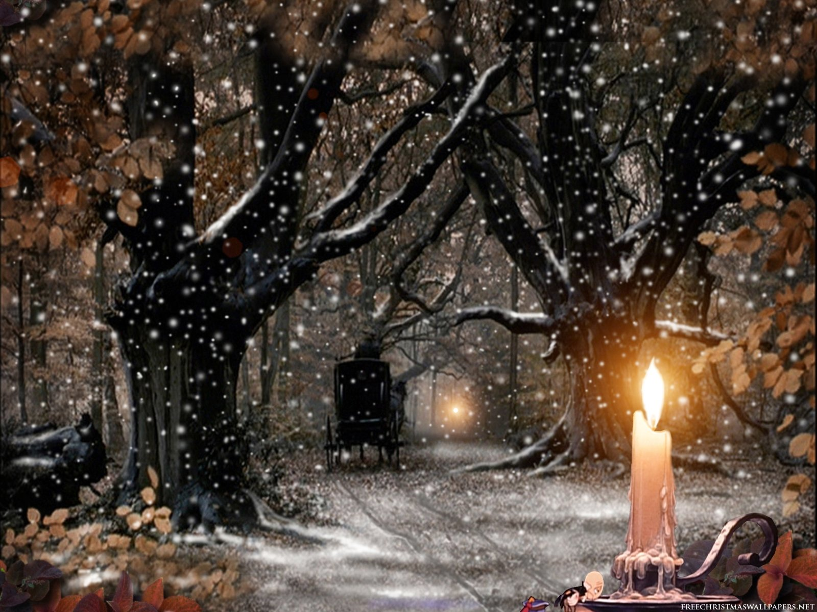 Wallpapers   Download Christmas Candle Wallpapers   Pc Wallpapers 1600x1200