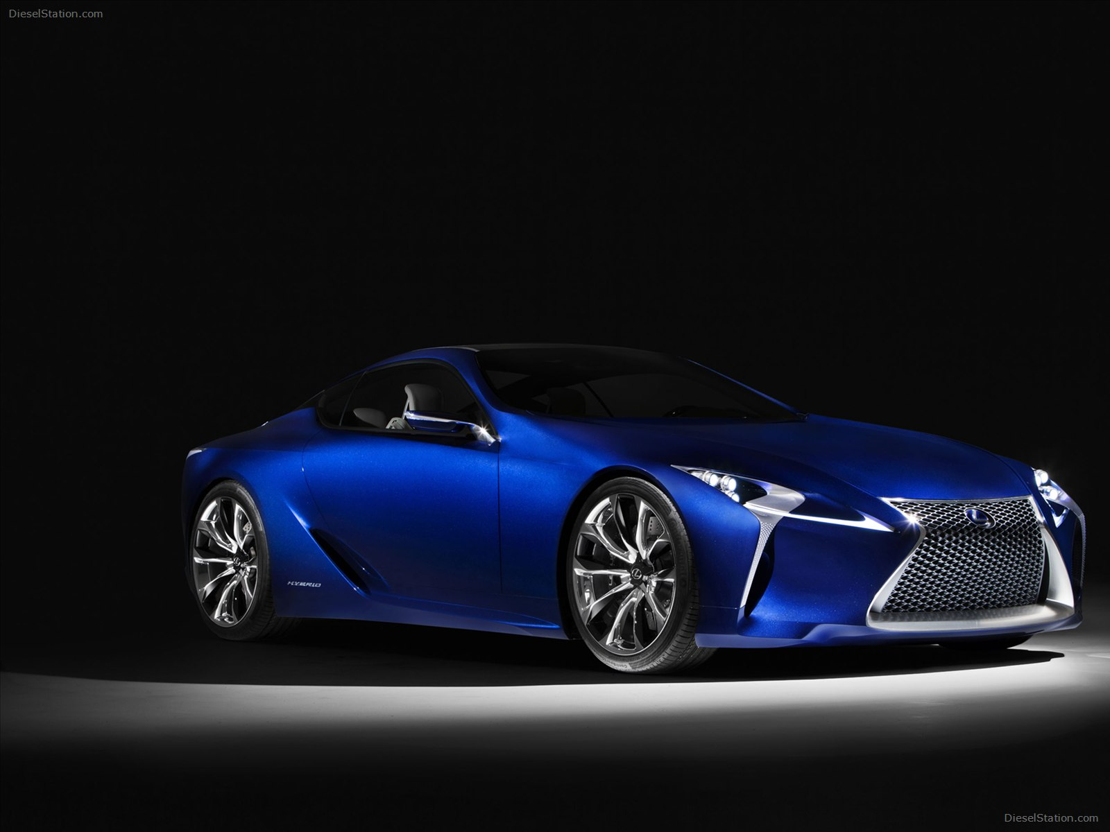 Lexus LF LC Blue Concept 2012 Exotic Car Wallpaper 09 of 24 Diesel 1600x1200