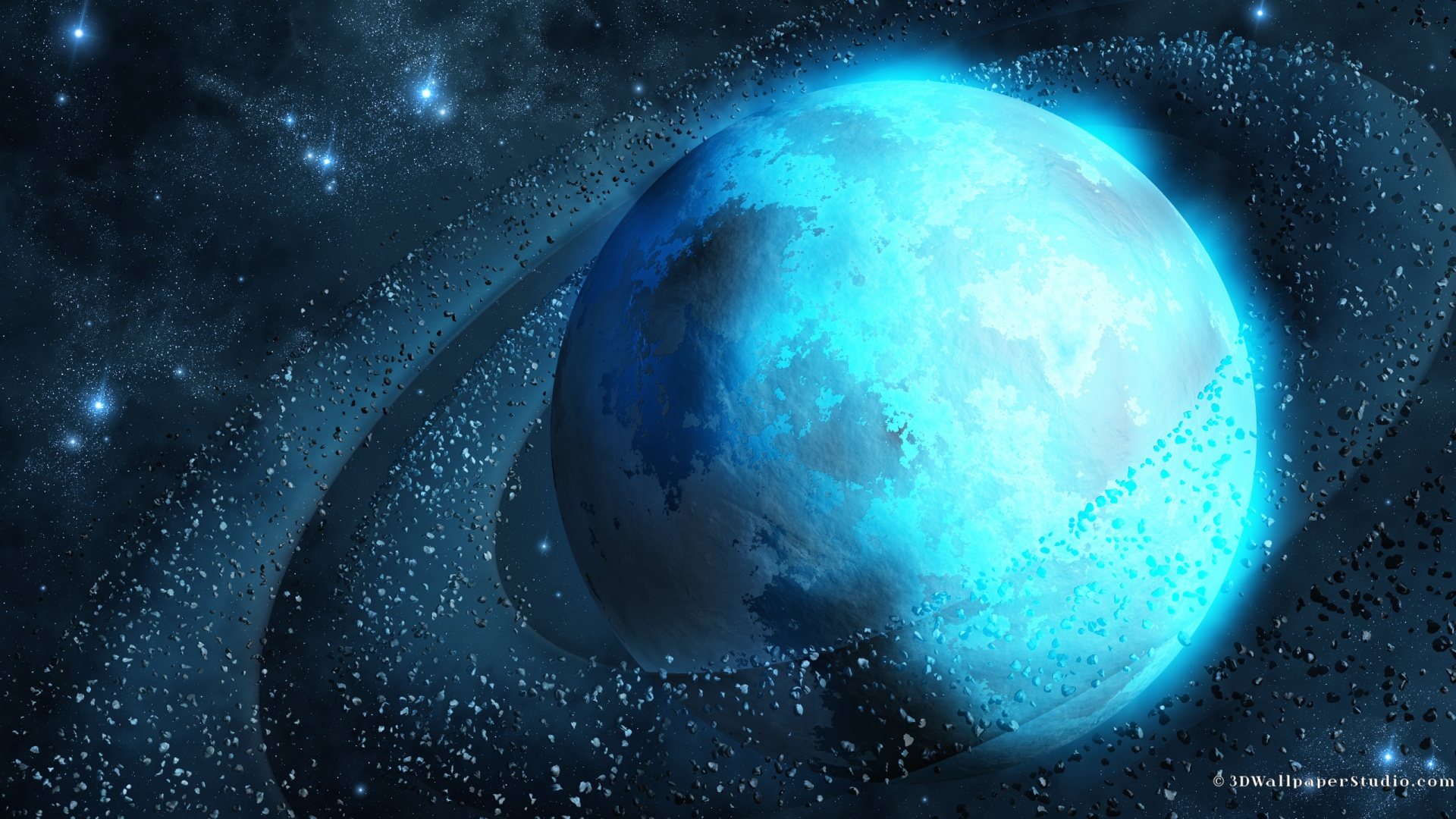 Blue Space wallpaper   185100 1920x1080