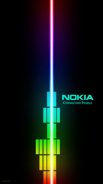 nokia logo wallpapers and images for mobile phone  mobile wallpaper 360x640