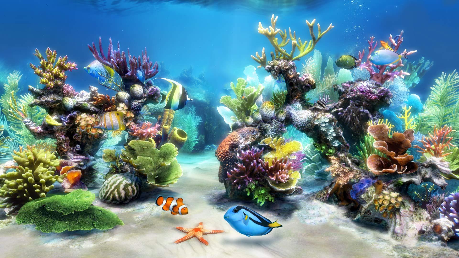 Sim Aquarium   Virtual Aquarium Screensaver and Live Wallpaper 1920x1080