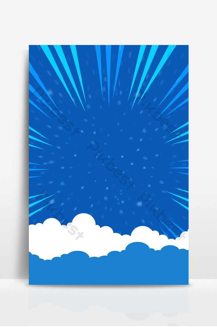 Simple cloud highlights supermarket promotion campaign board 700x1053