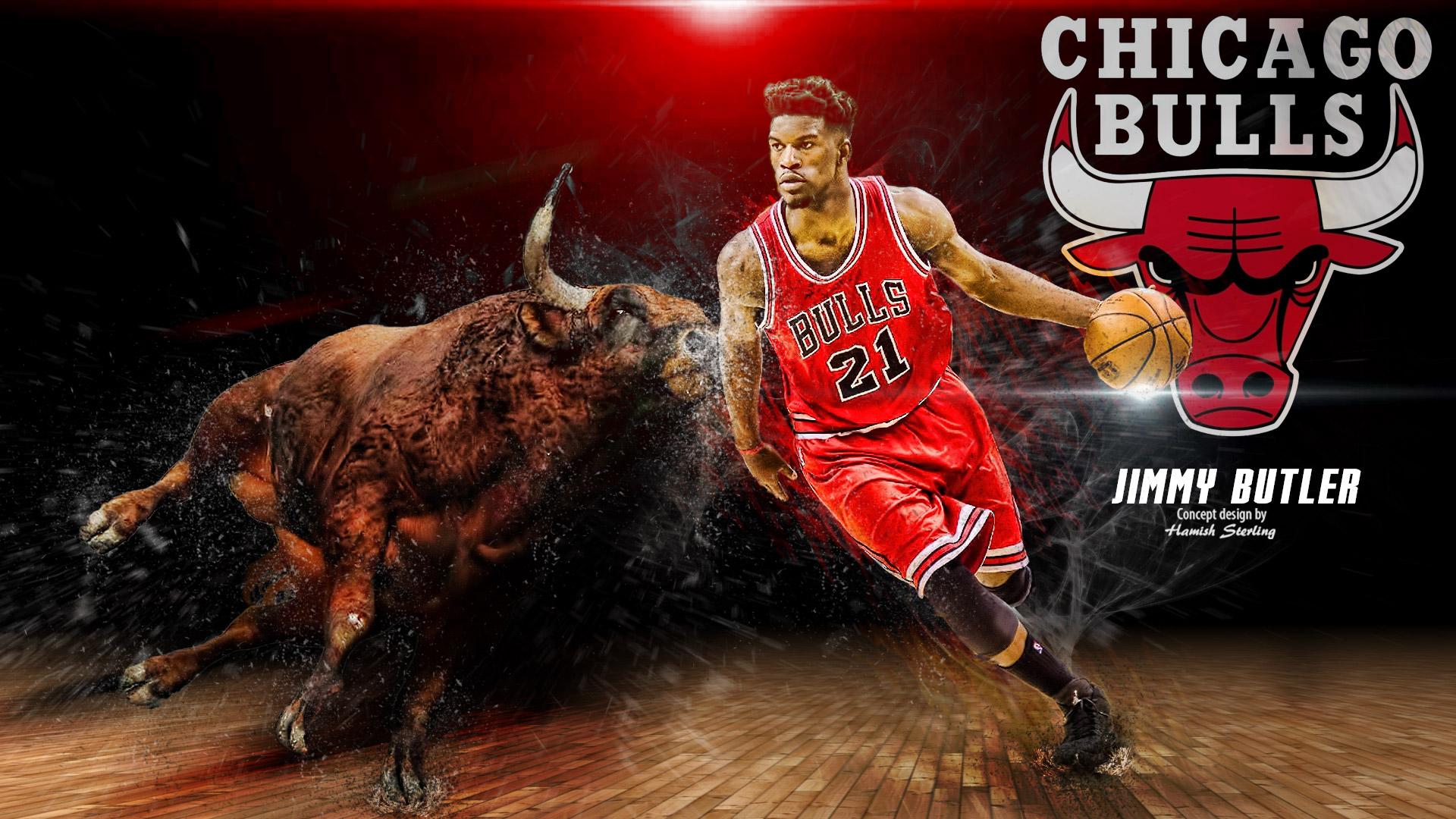 Wallpapers   Jimmy Butler Chicago Bulls 2016 Wallpaper wallpaper 1920x1080