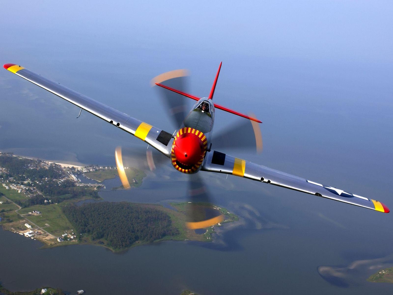 51 Mustang Aircraft Planes 1600x1200