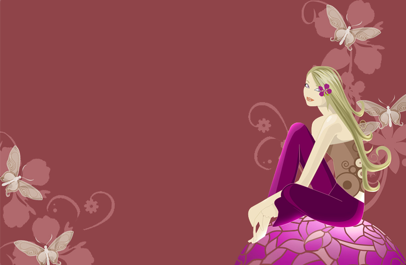 Wallpapers Designs Cool Girly Wallpapers 798x521
