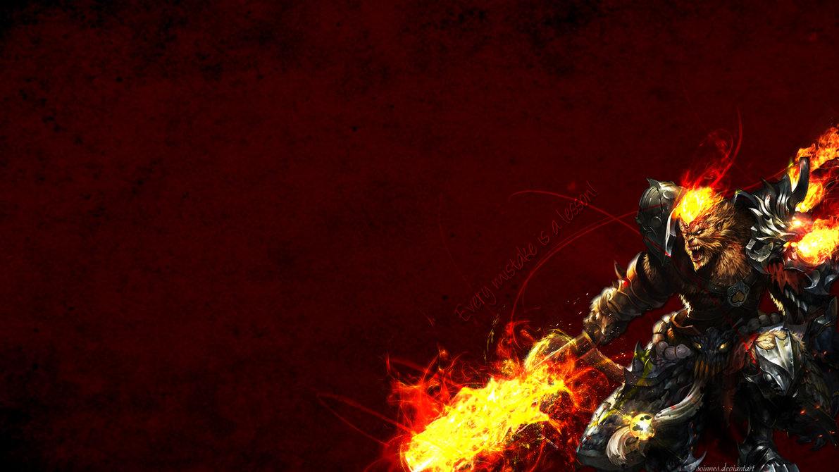 League of Legends   Wukong Wallpaper by Soinnes 1191x670