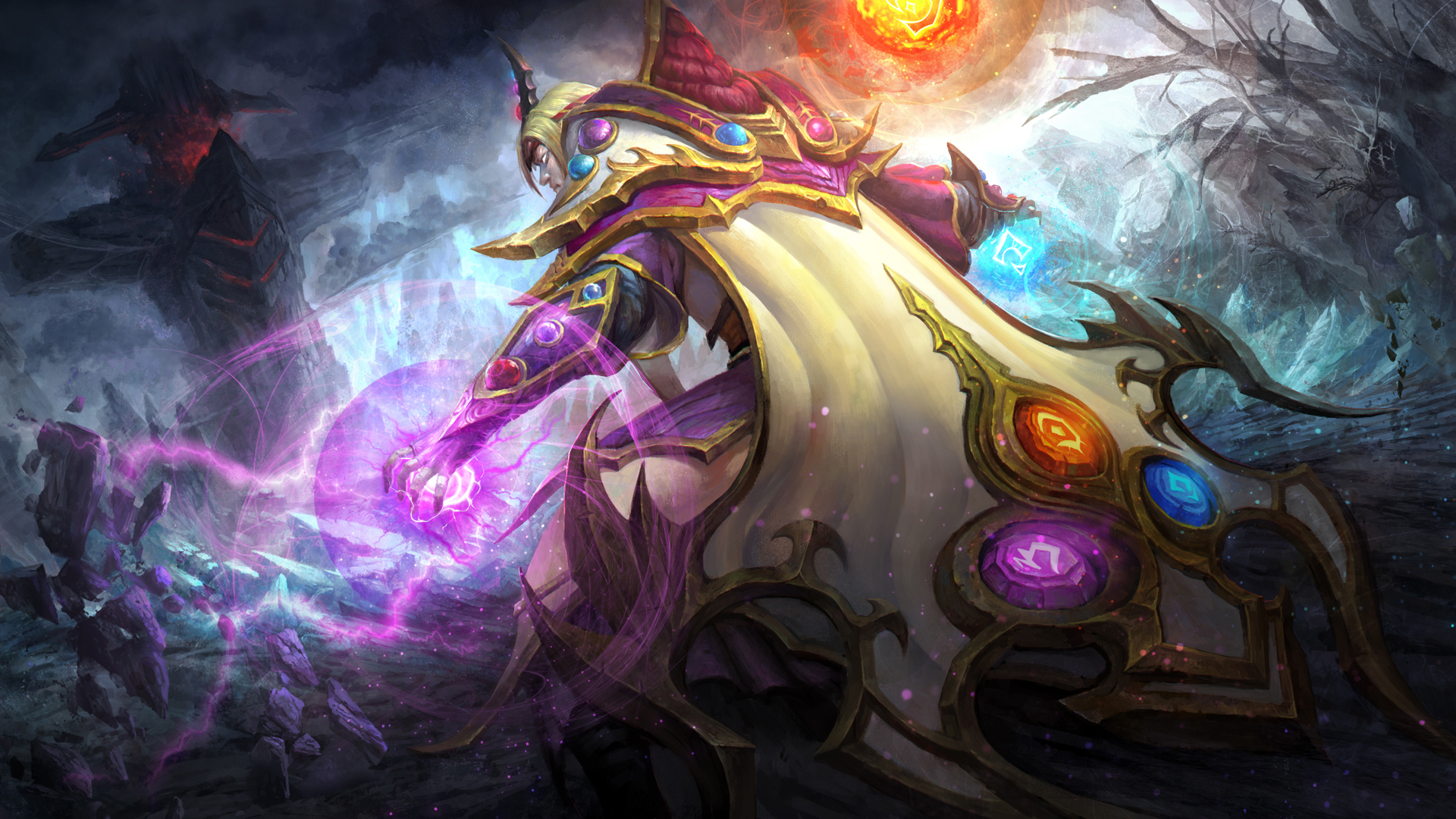 Invoker The Longevity Wizard Wallpaper Dota 2 HD Wallpapers 1920x1080