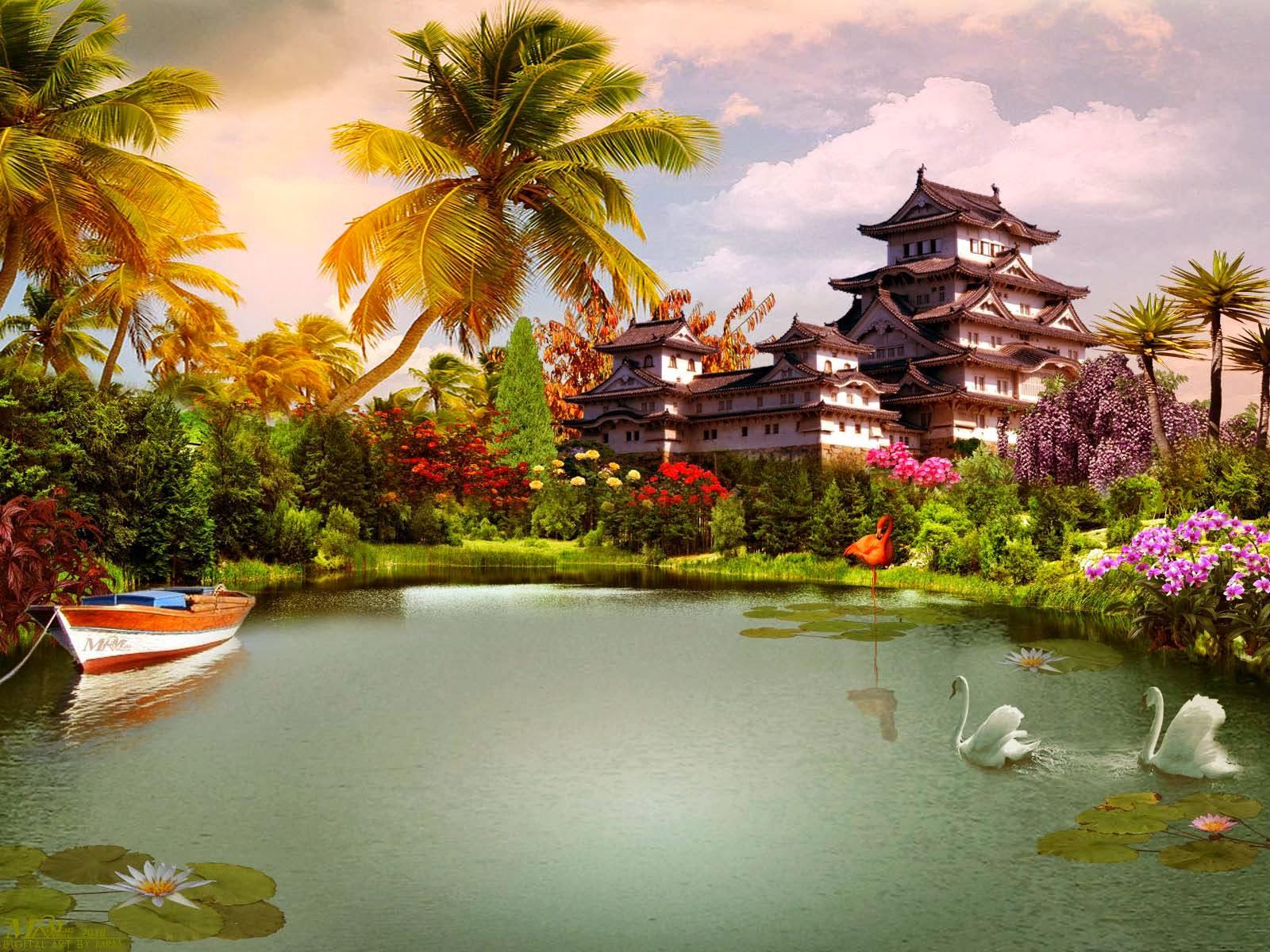 Most Beautiful Scenic Wallpapers Wallpapersafari