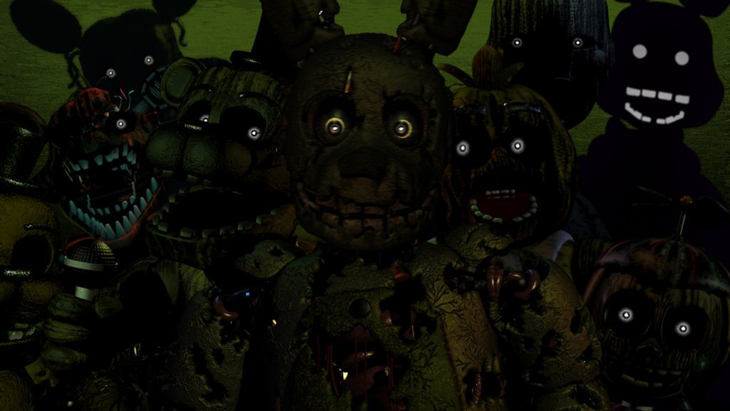 FNAF 3 Want to be part of the show by CABEZILLA142 1024x576