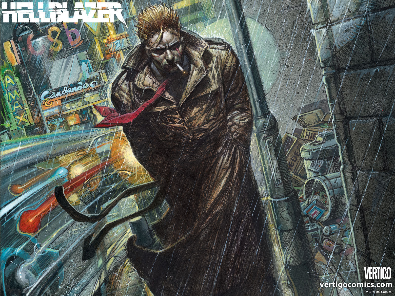 Hellblazer Official Vertigo Wallpapers   Vertigo Comics 1600x1200