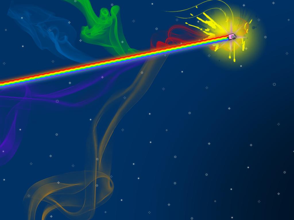 Free Download Nyan Cat Broken Screen Backgrounds For